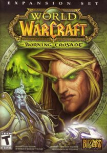 World of Warcraft The Burning Crusade Cover