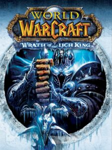 World of Warcraft Wrath of the Lich King Cover